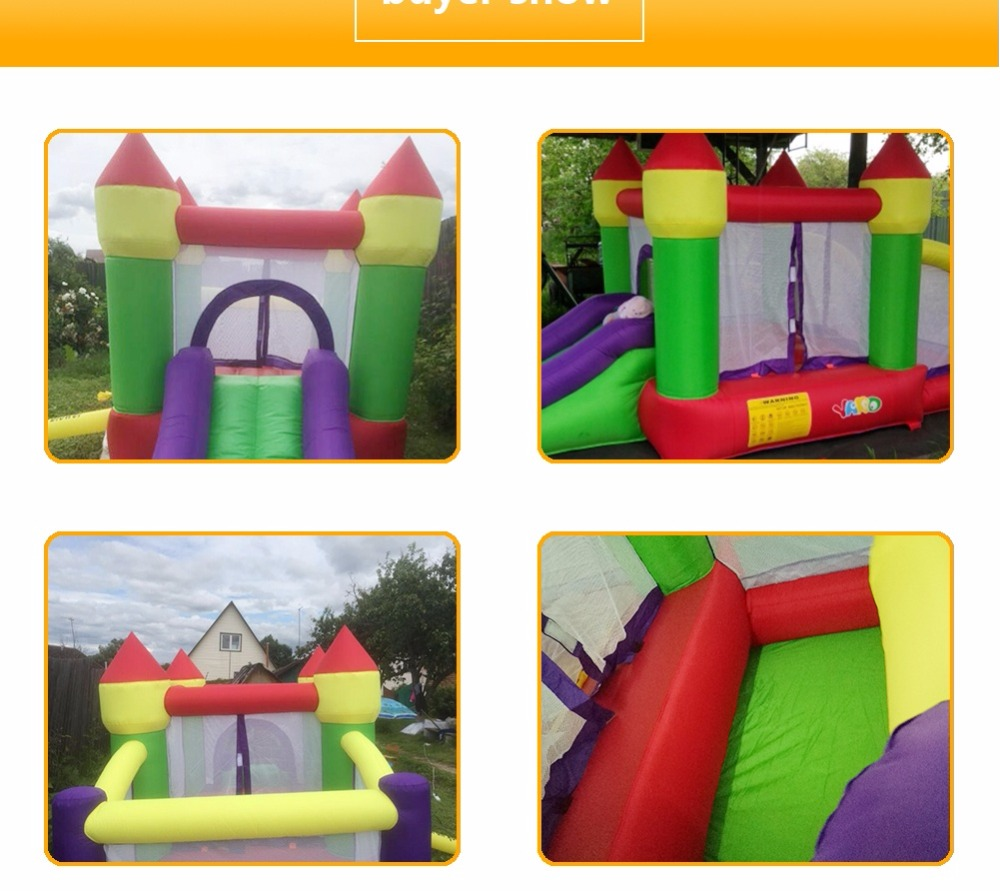 6018 inflatable trampoline bounce house bouncy castle bouncer_09