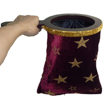 Change Bag - Repeat - Medium (The Stars/Wave crest) (16*31cm) - Magic Trick,Stage,Close Up magic props, Accessories(China)