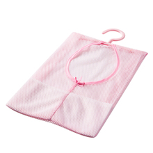 Hot Sale Multi-purpose Pink storage bag can be hanging, clothespin bags kitchen bathroom Use Blue