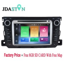 2 DIN Android Car DVD Player For Mercedes Benz Smart 2012-2014 2GB Ram 32GB flash Octa Core Car Radio Multimedia GPS Navigation