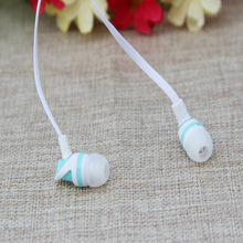 MOONBIFFY Sale 3.5mm Earphones Stylish In-Ear Super Bass Stereo Ear phone Earbud Headset for iPod for iPhone MP3 MP4 Smartphones(China)
