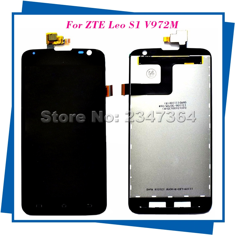 For ZTE Leo S1 V972M LCD Display Touch Screen Digitizer Assembly Replacement Parts Free Shipping+Tools<br><br>Aliexpress