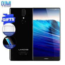 Newest UMIDIGI Crystal Borderless Mobile Phone MTK6750T Octa-core 4GB RAM 64GB ROM Metal Bezel-less Frameless Android Smartphone