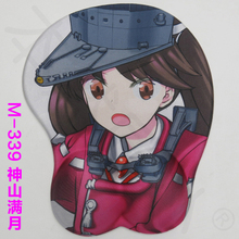Rest arm support 2016 new version silicone wristbands Cartoon Creative Japanese anime 3d breast mouse pad