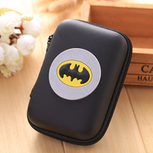 2017 New Silicone Coin Purse Wallet Pouch Case Batman Patterns Clutch Key Wallets Change Card Bag Bat-men Hero Anime Coin Purse(China)