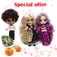 Free shipping Special Offer Factory Fashion Nude Blyth Doll,8 Doll Joint&4 Normal Body on sale,DIY toys