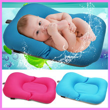 Buy Newborn Baby Bathtub Pillow Pad Lounger Air Cushion Floating Soft Seat Bath Safety Seat Baby Stroller Cushion 0~10 Month for $30.81 in AliExpress store