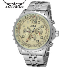 Original JARAGAR Casual Montre Homme Watch Men's 6 Hands Day/Week/24H Auto Mechanical Watches Wristwatch Free Ship