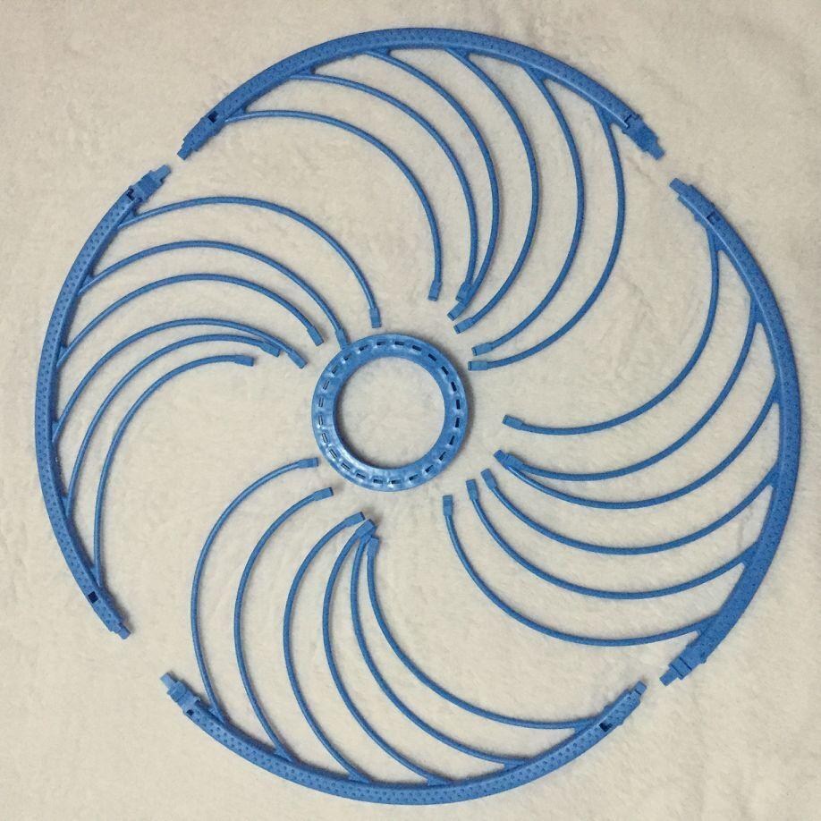 Кольцо фрисби для кастинговой сети