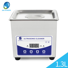 Ultrasonic Bath Cleaning Baskets Jewelry Watches Dental PCB 1.3L 60W 40kHz Ultrasound Cleaner Digital Heated Ultrasonic Cleaner