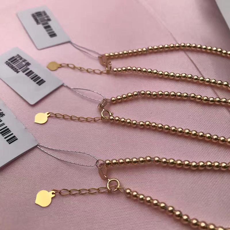 Sinya Natural pearls 18k gold beads strand bracelet for women girls Mom lover length 18cm can adjustable pearl diameter 7-8cm  (4)