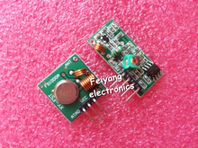 5lot RF wireless receiver module & transmitter module board Ordinary super- regeneration 315/433MHZ DC5V (ASK /OOK)