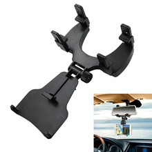 New Car Rearview Mirror Mount Holder Stand Cradle For Phone GPS PDA MP4 DY-fly