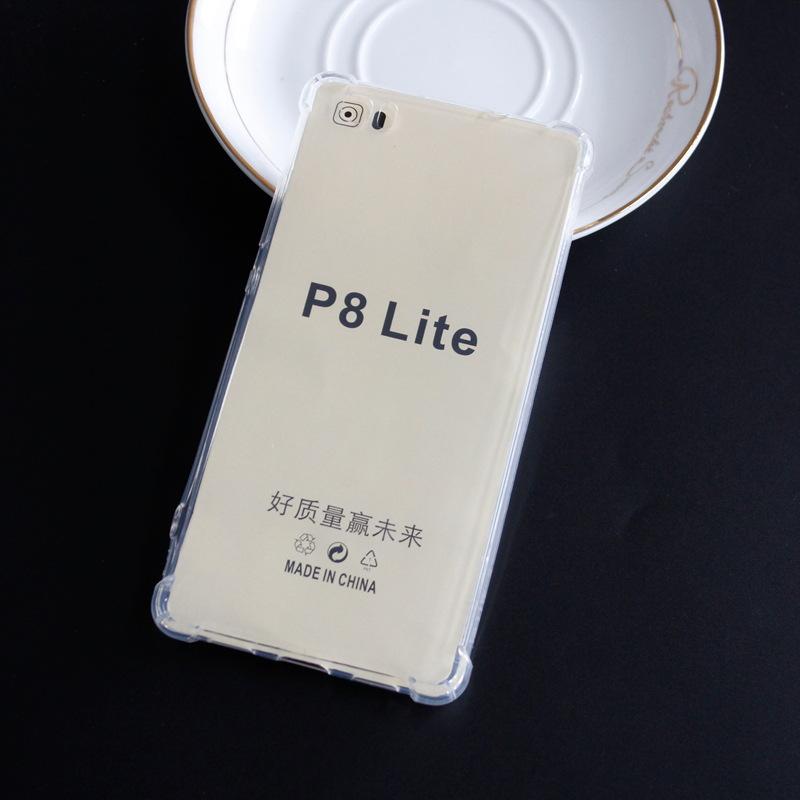 Transparent silicone case huawei P8 Lite 2017 honor 8 lite (6)