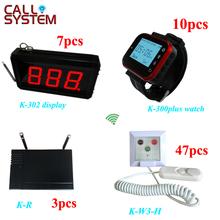 433.92mhz One set Hospital Alarm Emergency Calling System Wireless Nurse Call Button System(China)