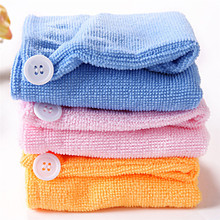 Fashion Korea Magic Hair Quick-Dry Turban Wrap Ultra thick Towel Bath Lady 4 Colors 7 Times Super Absorbent Drying Hair Towel(China)