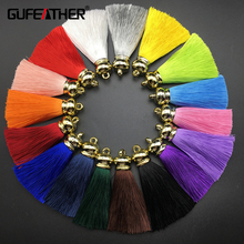 GUFEATHER High quality silk tassels/tassels for jewelry diy/jewelry findings/accessories/jewelry materials wholesale