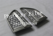 High quality for Land Rover Range Rover Sport 2010 2011 2012 Silver Gray side vent grille grill