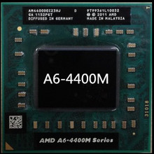 Original AMD Dual Core A6-4400M 2.7Ghz A6 4400M AM4400DEC23HJ A6-Series notebook CPU PROCESSOR best quality processor(China)