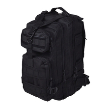 Men Outdoor backpack Military Tactical Backpack Camping Hiking Hunting Trekking Backpack (Black)