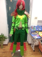 DOTA 2 Windranger WR Cosplay Costume Anime Custom Made Uniform