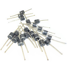 20pcs 45v 15a Current Blocking Rectifier Diodes Solar Panel 15amp Schottky Axial Rectifier Blocking Diode For Diy Solar Panel