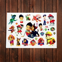 3D Kids Cartoon Temporary Tattoo Sticker Fake Waterproof Tatoo Paste Baby Gifts Toy ACG127 Inspired Flash Tattoo Child Body Arm