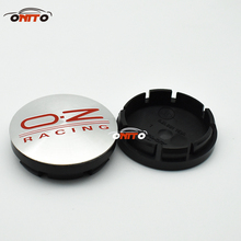 4PC Silvery 56mm oz// o.z racing wheel cap Alloy Car Wheel Center Caps Emblem badge cover label Auto Styling For all car model(China)