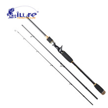 iLure fishing rod spinning fishing rod 99% carbon telescope rod 1.8M 3section 603Mt angel fishing rod fishing tackle peche pesca