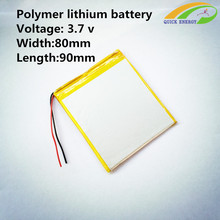 3000MAH 3.7V thium polymer batteries Onda other batteries batteries for tops 288090