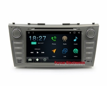 Android 6.0 Car DVD GPS for Toyota Camry V40 2006-2011 Autoradio GPS with Radio RDS BT Mirrior-Link Wifi 8GB Map card