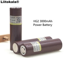 100% New Original HG2 18650 3000mAh battery 18650HG2 3.6V discharge 20A dedicated For LG Electronic cigarette Power battery(China)