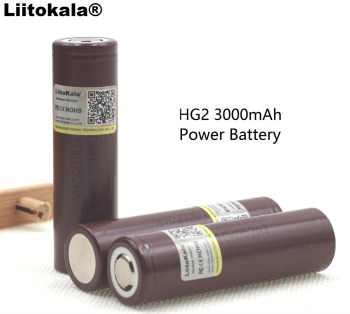 liitokala 100% HG2 18650 3000mAh 18650HG2 3.6V discharge 20A dedicated For hg2 Power