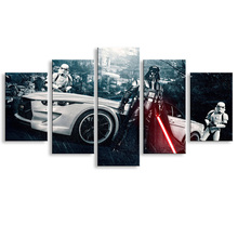 oil Painting BMW car Hd printcanvas painting Photo print painting PrintsWall Pictures for Living Room PictureC5-006