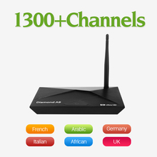 Buy Dalletektv 1 Year QHDTV IPTV Subscription Europe Arabic French IPTV Box A9 Android 6.0 Smart TV Box Amlogic S912 2G 16G STB for $89.95 in AliExpress store