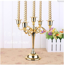 Decorative Christmas Candles Candlestick Holders Candlestick Metal Lantern Oil Burner Household Products Candlestick QQX94(China)