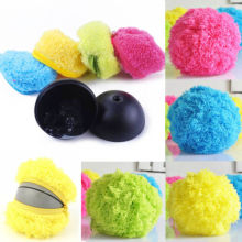 Mini Robotic Microfiber Mop Cleaning Floor Ball Mini Automatic Cleaner Cute Roll Floor Sweeper(China)