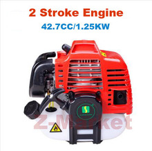 1E40F-5D 2 Stroke Petrol Engine 43CC Mounted In Brush Cutter.Grass Trimmer.Lawn Mower.Tiller.Pump.etc Gasoline Garden Tools