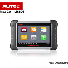Autel MaxiCOM MK808 OBD2 Automotive Scanner with Oil Reset, EPB, BMS, SAS, DPF,TPMS,IMMO (MD802+MaxiCheck Pro) Better than EU908(China)