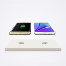 Qi Standard Wireless Charging Receiver + Twin Charger Pad(China)