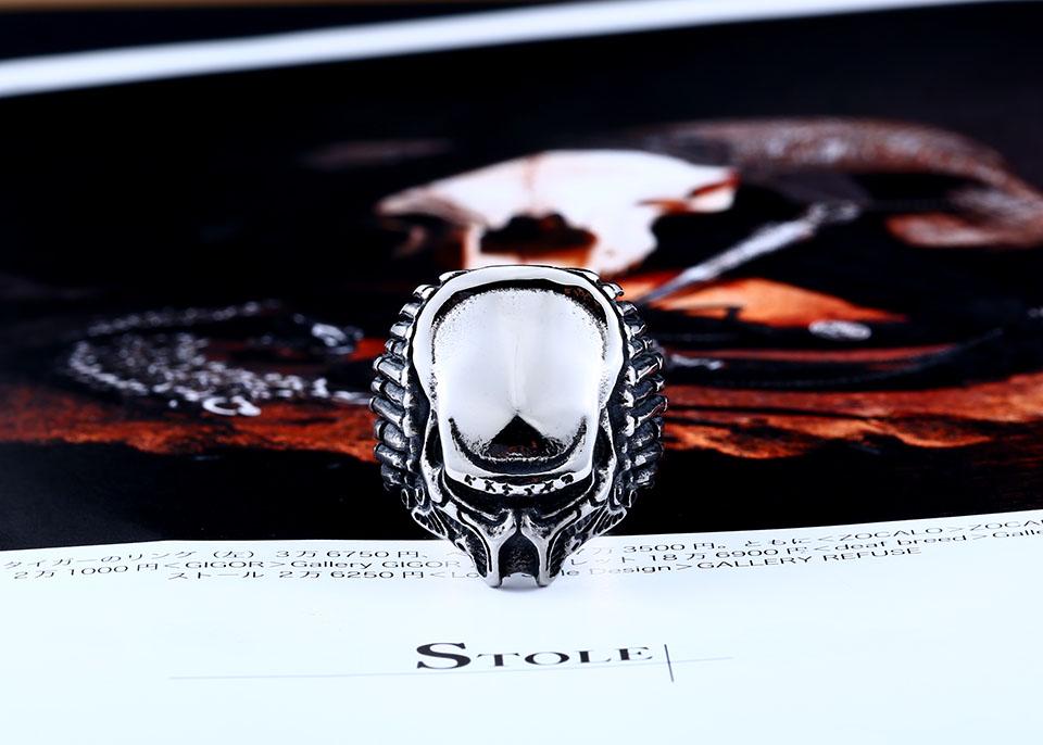 แหวนแนวๆ Code 051 แหวน Predator สแตนเลส เจ๋งมากๆ ส่งฟรี2