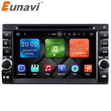 2017 Direct Selling Sale Eunavi 2g+32g 2 Din Android 6.0 Car Pc Double For Audio 7'' Gps Navi Stereo Radio Mp3 Player Bluetooth