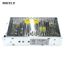 High Quality Dual Output switching Power source Supply 60w 5V6A 12V4A D-60A Ac-Dc Voltage Converter Led
