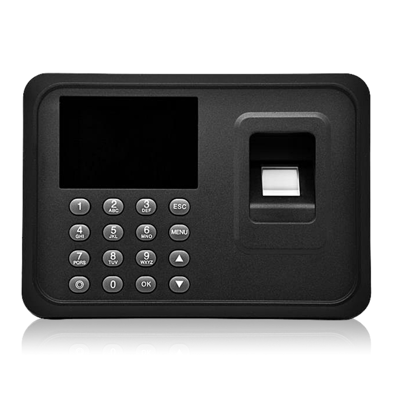 USB fingerprint biometric attendance machine fingerprint scanner with 2.4 inch TFT screen for security door lock system<br>