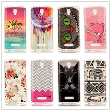 Lenovo A2010 Case Landscape Soft TPU Cute Rubber Back Cover Phone Cases 2010 Ultra Thin Silicon Bear Owl Clear - WALWORTHS Co.,Ltd store