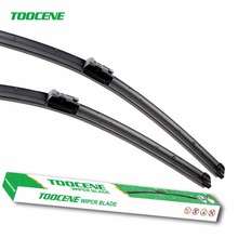 "Toocene Windshield Wiper Blade For VW Jetta6 PassatB6 B7 CC Golf5 Golf 6 Eos 2005-2016 24""+19""Windscreen wiper blade Rubber(China)"