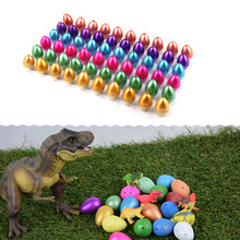 60pcs/lot Funny Toys Magic Water Hatching Inflation Growing Dinosaur Eggs Toy For Kids Gift Child Educational Novelty Gag Toys(China)