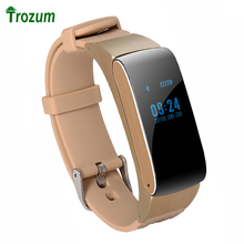 TROZUM Business and Sports Bluetooth Smart Bracelet Watch Hot DF22  HiFi Sound Headset Digital Wrist Pedometer For IOS Android