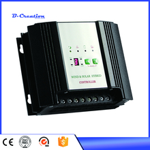 PWM 600w wind/solar hybrid controller 24v charge controller with LCD display. Used for wind and solar power system.