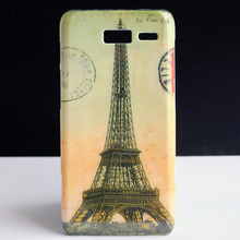 Eiffel Tower Design Hard Back Protective Skin Cover Case For Motorola Moto Droid RAZR i XT890 Coque Funda Capa(China)
